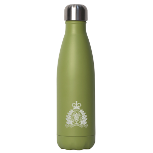 Stainless Steel Insulated Bottle - Green RCMP 17oz