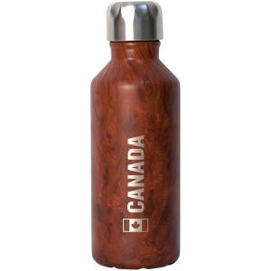 Stainless Steel Insulated Bottle - Redwood Canada 12oz