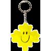 Plush Keychain- Yellow Maple Leaf
