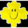 Plush Magnet - Yellow Maple Leaf