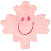 Plush Magnet- Pink Maple Leaf