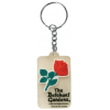 Keychain-PVC Butchart Gardens-clear
