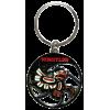 Enamel Keychain-Native Eagle