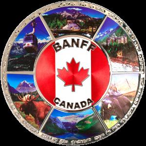Foil Plate - Banff 6''