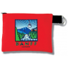 Zip Pouch-Banff(Red)