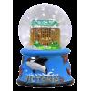 Magnetic Snow Globe - Victoria