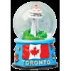 Magnetic Snow Globe - Toronto
