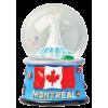 Magnetic Snow Globe - Montreal