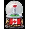 Magnetic Snow Globe - Calgary
