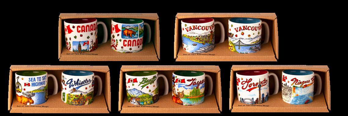 Espresso Set Mugs